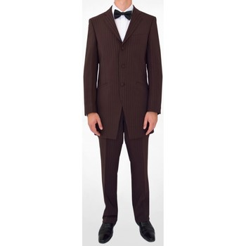 Vêtements Homme Costumes  Kebello Costume Redingote H Marron Marron