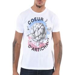 Vêtements Homme T-shirts manches courtes Kaporal T-shirt manches courtes H Blanc Blanc