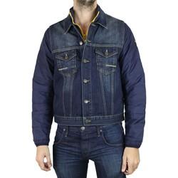 Vêtements Homme Vestes en jean Kebello Veste en jean H Bleu Bleu