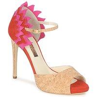 Chaussures Femme Sandales et Nu-pieds Rupert Sanderson FLAMANTE Rouge / Noir