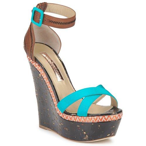 Chaussures Femme Sandales et Nu-pieds Rupert Sanderson NISSA Bleu