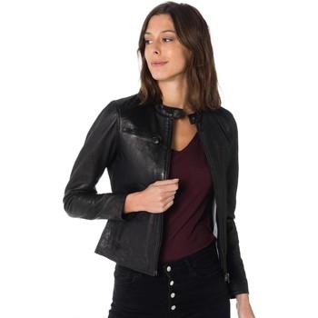 Vêtements Femme Vestes en cuir / synthétiques Cityzen LYRA BLACK Noir