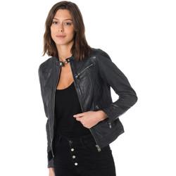 Vêtements Femme Vestes en cuir / synthétiques Cityzen ARA BLUE Bleu