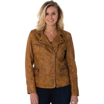 Vêtements Femme Vestes en cuir / synthétiques Cityzen SIENA COGNAC Cognac