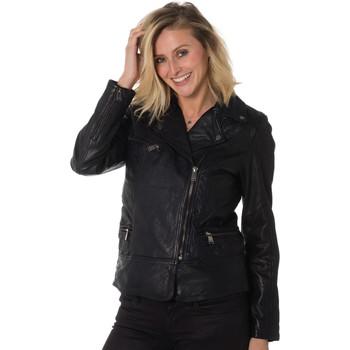 Vêtements Femme Vestes en cuir / synthétiques Cityzen SIENA BLACK Noir
