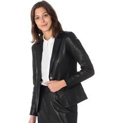 Vêtements Femme Vestes en cuir / synthétiques Cityzen VENICE BLACK Noir