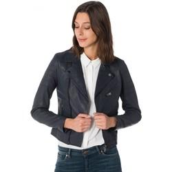 Vêtements Femme Vestes en cuir / synthétiques Cityzen STARWOMEN NAVY Bleu marine