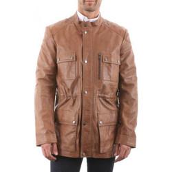 Vêtements Homme Vestes en cuir / synthétiques Giorgio Maxent WODY Cognac Cognac
