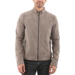 Vêtements Homme Vestes en cuir / synthétiques Giorgio Coru Velours Perle Perle
