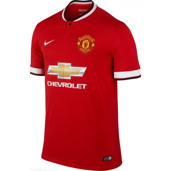 Vêtements Homme T-shirts manches courtes Nike Maillot de football  Manchester United Stadium Home 2014/2015 - Rouge
