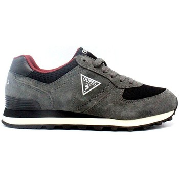 Chaussures Homme Baskets basses Guess Baskets Homme Charlie Gris Gris