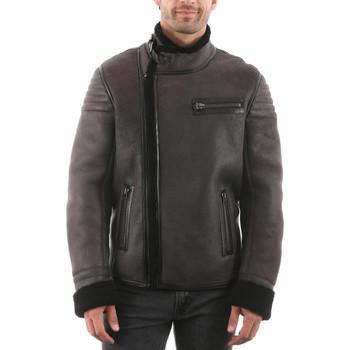 Vêtements Homme Vestes en cuir / synthétiques Giorgio Pastore Gris Gris