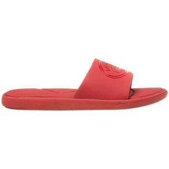 Chaussures Femme Claquettes Lacoste L30 Slide Rouge