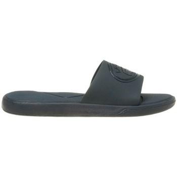 Chaussures Femme Claquettes Lacoste L30 Slide Bleu marine