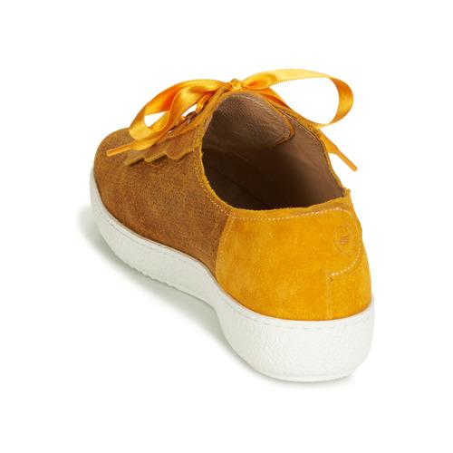 Humana Femme Basses Chaussures Casta JauneDoré Baskets CQdBhrxtso