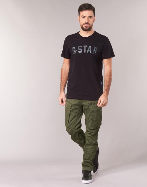 Vêtements Homme Pantalons cargo G-Star Raw ROVIC ZIP 3D STRAIGHT TAPERED Kaki