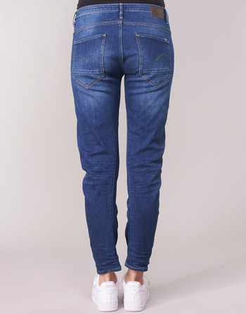 Femme Bleu Boyfriend 3d Vêtements star Aged Medium Jeans Arc Raw Low G lFT13KJc