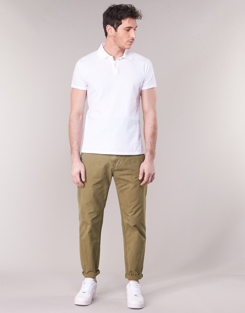 Vêtements Homme Chinos / Carrots G-Star Raw BRONSON STRAIGHT TAPERED CHINO Beige