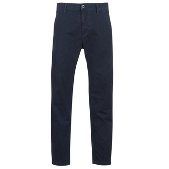 Vêtements Homme Chinos / Carrots G-Star Raw BRONSON STRAIGHT TAPERED CHINO Marine