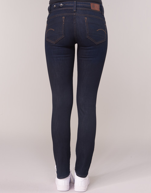 Femme Midge Bleu Raw Straight G Dark star Saddle Aged Droit Mid Jeans Lq4ARj35c