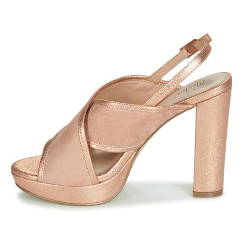 Femme Sandales Rose Gold Nu Chaussures Et Villalba pieds Menbur N8nXZkwP0O