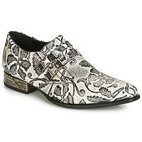 Chaussures Homme Richelieu New Rock SALSO Noir / Blanc