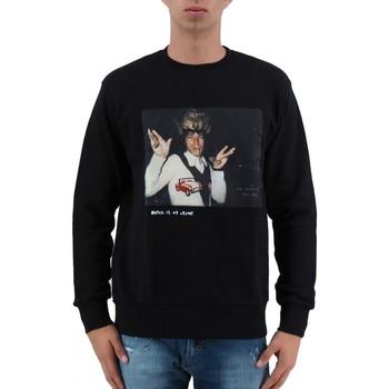 Vêtements Homme Sweats Ko Samui Tailors Mick Jagger - Sweat-shirt noir couronn  KSUJ Noir