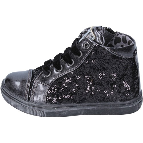 cheap price official supplier to buy sneakers noir paillettes cuir BT304