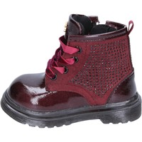 Chaussures Fille Bottes ville Lulu BT356 rouge