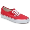Chaussures Baskets basses Vans AUTHENTIC Rouge