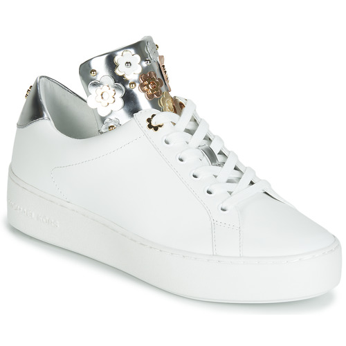Chaussures Femme Baskets basses MICHAEL Michael Kors MINDY Blanc