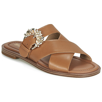 Chaussures Femme Mules MICHAEL Michael Kors FRIEDA SLIDE Marron