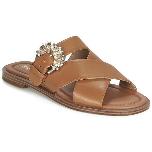 Chaussures Femme Mules MICHAEL Michael Kors FRIEDA SLIDE Marron