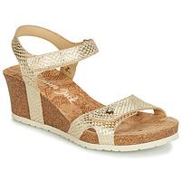 Chaussures Femme Sandales et Nu-pieds Panama Jack JULIA Or