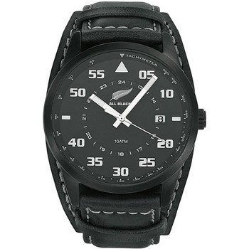 Montre All Blacks Montre All Blacks 680161 - Montre Cuir Noire Homme