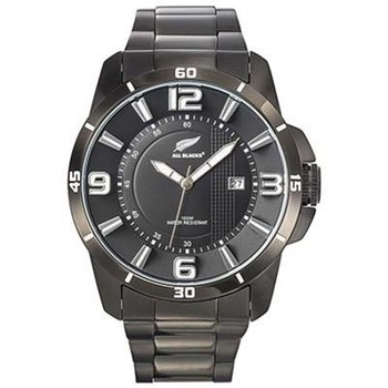 Montre All blacks montre all blacks 680187 - montre ronde dateur noir homme