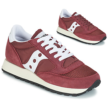 sale retailer 02b58 61ee5 Chaussures Homme Baskets basses Saucony Jazz Original Vintage Bordeaux    Blanc