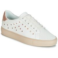 Chaussures Femme Baskets basses Esprit COLETTE STAR LU Blanc / Rose gold