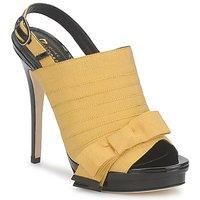Chaussures Femme Sandales et Nu-pieds Jerome C. Rousseau BYEN Jaune / Noir