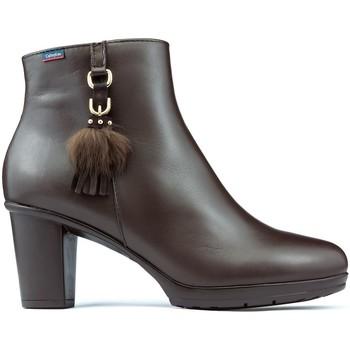 Chaussures Femme Bottines CallagHan Bottines Diana  SIERRA ANTIC MARRON