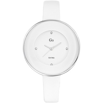 Montre Go Girl Only Montre Go 698166 - Montre Blanche Mode Cuir Femme