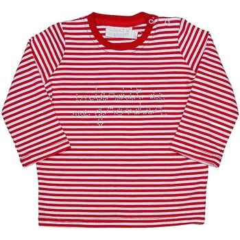 Vêtements Fille T-shirts manches longues Interdit De Me Gronder MARINA Rouge