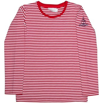 Vêtements Fille T-shirts manches longues Interdit De Me Gronder MILKY Rouge