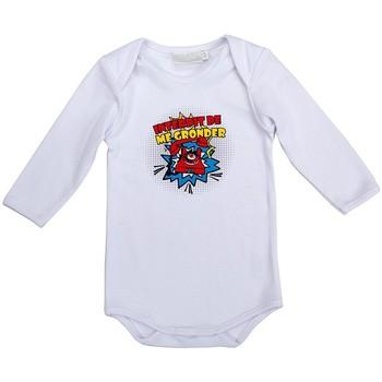 Vêtements Garçon Pyjamas / Chemises de nuit Interdit De Me Gronder PETIT BOOM Blanc