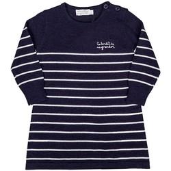 Vêtements Fille T-shirts manches longues Interdit De Me Gronder ELITE Bleu
