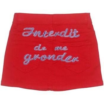 Vêtements Fille Jupes Interdit De Me Gronder PEPSY Rouge
