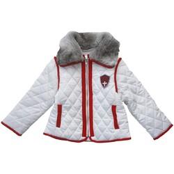 Vêtements Fille Doudounes Interdit De Me Gronder MEGEVE Blanc