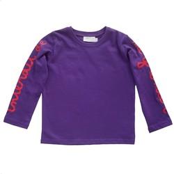 Vêtements Fille T-shirts & Polos Interdit De Me Gronder GIGI Violet