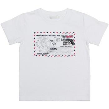 T-shirt enfant Interdit De Me Gronder CARTE POSTALE