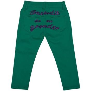Vêtements Fille Jeans droit Interdit De Me Gronder TRENDY Violet
